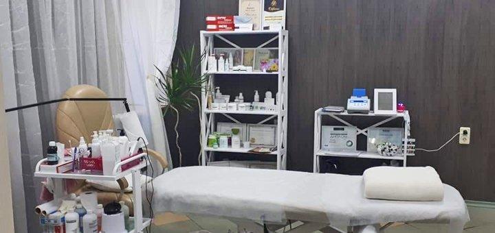 До 3 сеансов механической чистки лица с весенним уходом по типу кожи в косметологическом кабинете «Красотка»
