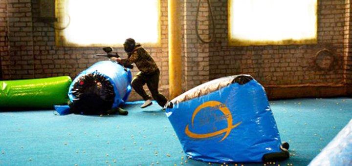 Игра в пейнтбол для компании до 14 человек в центре спортивного пейнтбола «Экспресс»