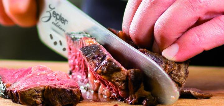 Скидка 5% на нож «Сантоку» с отверстиями + бонус