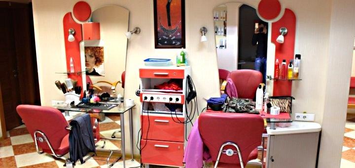 Женская и мужская стрижка, укладка, окрашивание волос в салоне красоты на Победе
