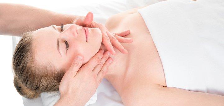 До 7 сеансов испанского массажа лица, шеи и зоны декольте в кабинете красоты «Estetic»