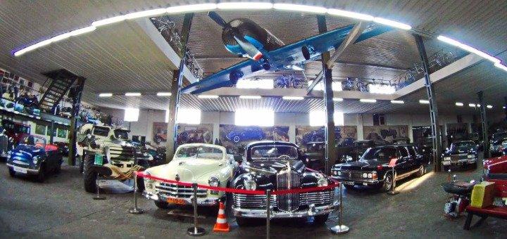 Скидка 50% на посещение выставки ретро автомобилей в музее техники «Фаэтон»
