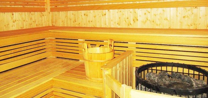 2 или 3 часа аренды финской сауны для компании до 8 человек в оздоровительном комплексе «Сырец»