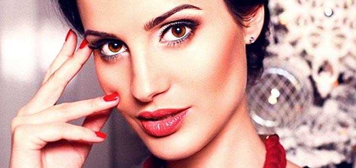 Скидка 34% на увеличение губ, заполнение носогубных морщин, моделирования контуров лица в студии красоты «Zlatko»