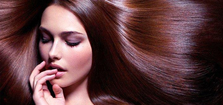 Скидка 40% на полировку волос и вечернюю укладку на основе локонов от салона «Mariart»