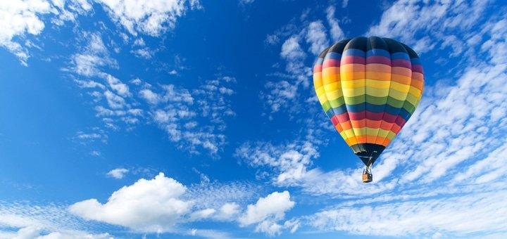 Скидка 56% на полеты на воздушном шаре от сертифицированной авиакомпании «АсАвиа Украина»