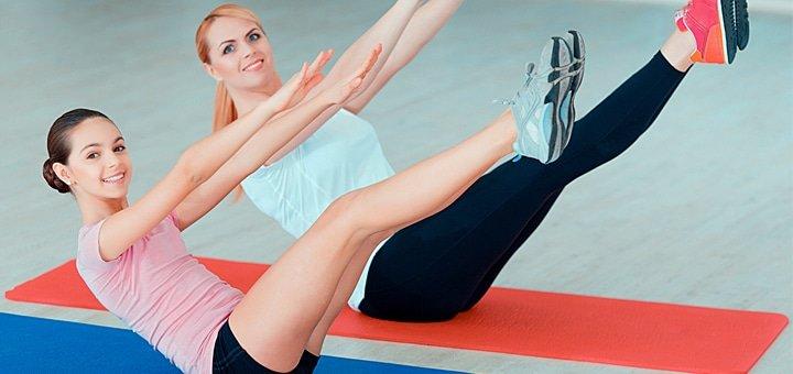 Абонемент на 1, 3, 6 месяцев в фитнес клубе «Annika Fitness» и абонемент на 5 или 10 индивидуальных занятий с тренером!