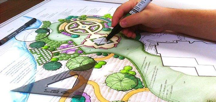 Полный курс по ландшафтному дизайну для одного или двоих в «Институте дизайна»