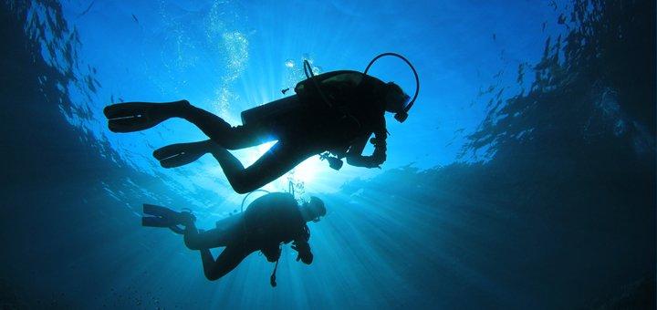 Скидка до 51% на пробное занятие дайвингом или полный курс «Diver CMAS» в «Submarine Club»