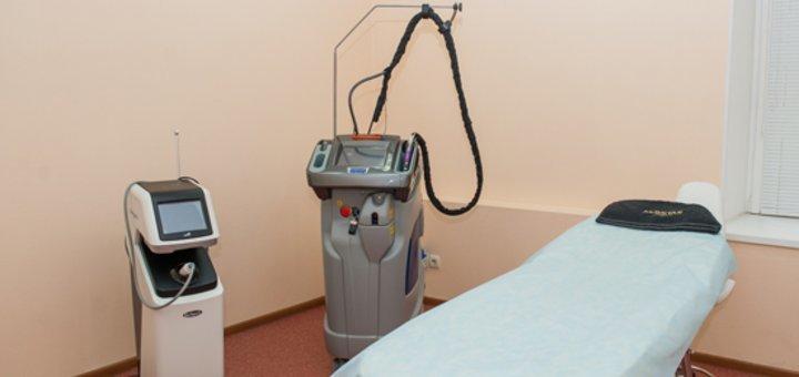 До 3 сеансов лазерной фракционной шлифовки кожи лица DOT therapy в клинике «Gold Laser»