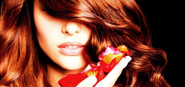 Женская стрижка, укладка, полировка, лечение волос огнем в салоне красоты «Polianna»