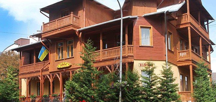 От 3 дней отдыха с питанием в отеле «Парк» в центре Трускавца