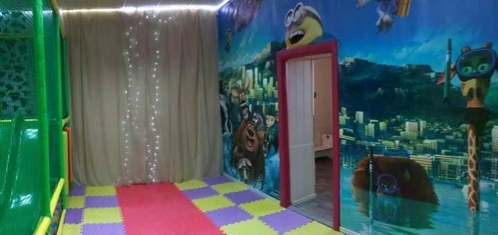 Празднование дня рождения ребенка в детском центре «Счастливчик»