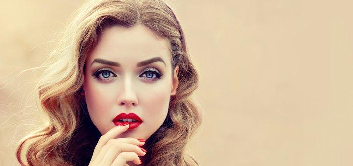 макияж веки фото до и после