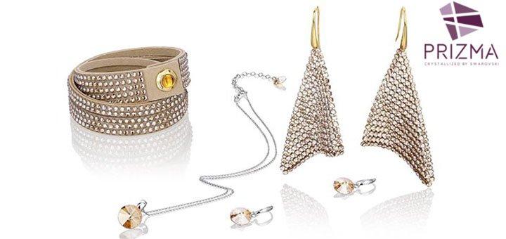 Скидка 30% на все украшения с кристаллами «SWAROVSKI» в интернет-магазине «PRIZMA»