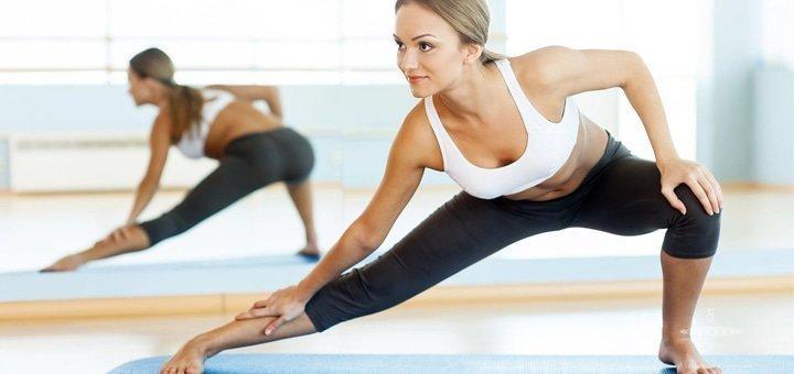 До 16 занятий йогой, stretching, TRX в студии фитнеса «FitFactory»