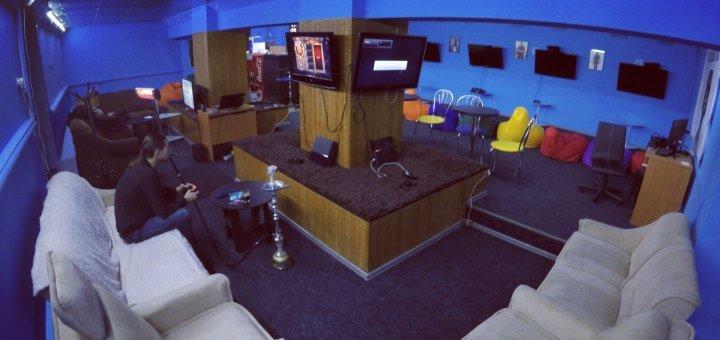 До 4 часов игры на PlayStation в очках виртуальной реальности с кальяном в игровом клубе «Push»