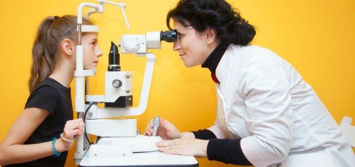 Комплексное детское офтальмологическое обследование и подбор очков в клинике «Baby luck»