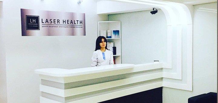 Маникюр, педикюр с покрытием Shellac в Клинике «Laser Health»
