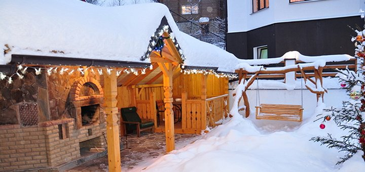 От 6 дней горнолыжного отдыха с питанием и баней в отеле «Вилла Парламент» вблизи Буковеля