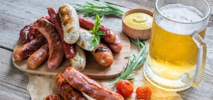 Скидка до 50% на все меню кухни и алкогольные коктейли в гастропабе «Горчица»