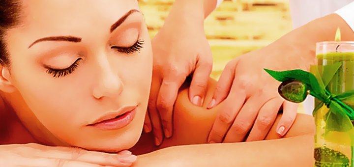 Расслабляющая SPA-программа в студии массажа «Сакура»