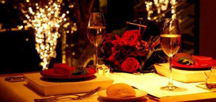 Романтический ужин при свечах в семейном ресторане «LaZika»