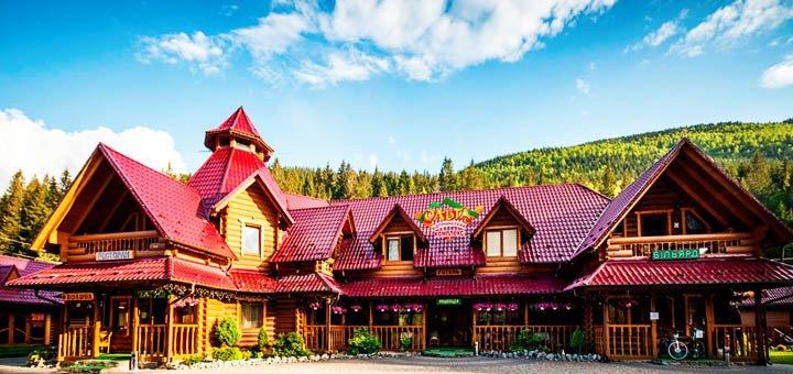 От 3 дней с питанием, бассейном и сауной в SPA-корпусе отеля «Ольга» в Татарове в Карпатах
