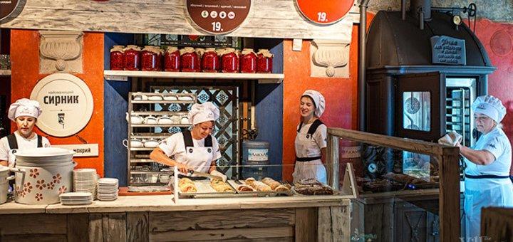 Знижка 30% на смачнющі страви у пекарні «Львівські Пляцки» на Спаській або Б. Хмельницького