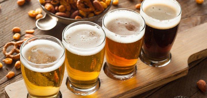 Алкогольный безлимит для двоих в beer bar «Cheбурек»