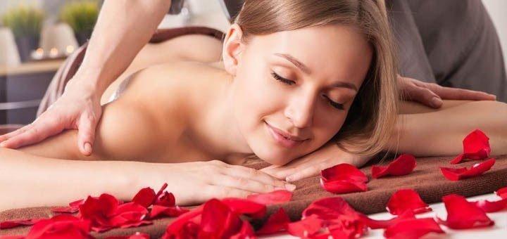 SPA-программа «Лепестки Роз» с обертыванием в салоне красоты «Sher»