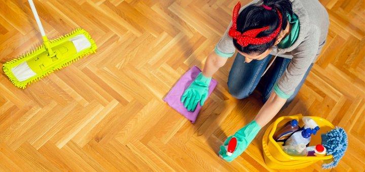 Уборка помещения площадью до 101 кв. м специалистами компании «Clean group»