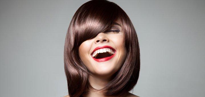 Стрижка и полировка волос со SPA-процедурой в салоне красоты «Rekshaz»