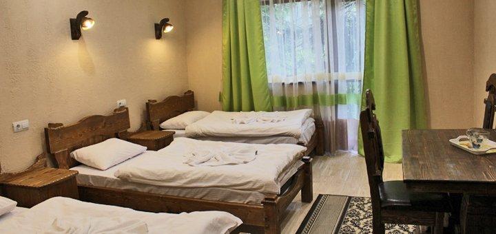 От 4 дней отдыха с питанием и посещением бани в отеле «Горянин» на курорте Пилипец