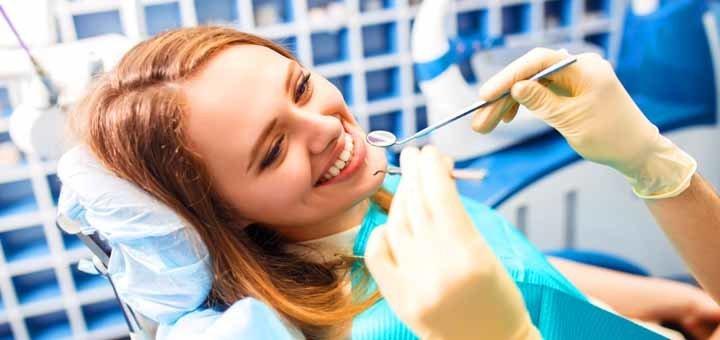 Ультразвуковая чистка зубов в стоматологической клинике «Эксперт»