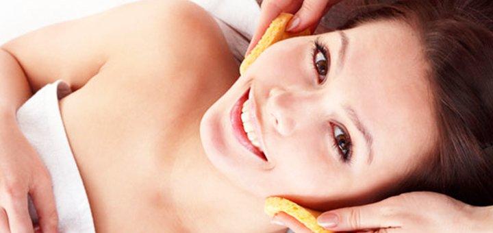 Механическая чистка лица от косметолога Натальи Челомбитько