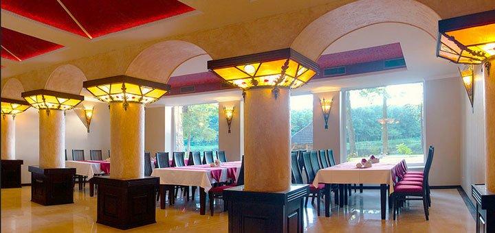 От 3 дней отдыха с завтраком и пакетом дополнительных услуг в резорт-отеле «Шервуд» под Львовом