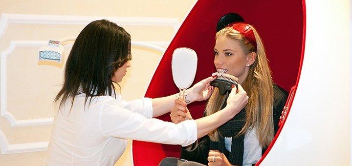 Скидка до 64% на лазерное отбеливание зубов Perlsmile в медицинском центре «Первоцвет»