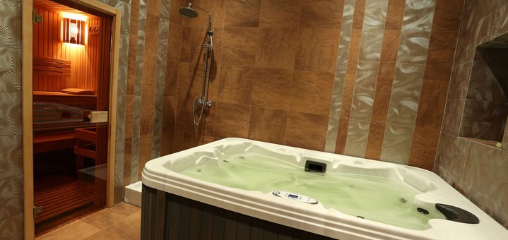 Скидка 30% на проведение мальчишника или девичника в «Aroma sauna»