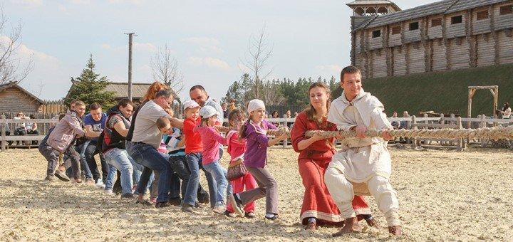 Билеты для взрослых на грандиозное празднование Пасхи в парке «Киевская Русь»