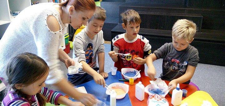 Скидка 20% на дневной лагерь для детей на период весенних каникул в школе «Kid'Z Studio»