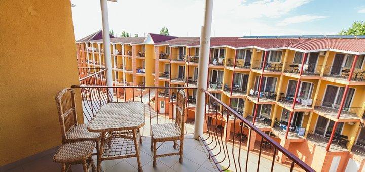 От 3 дней отдыха для двоих в отеле «Парус» в Затоке