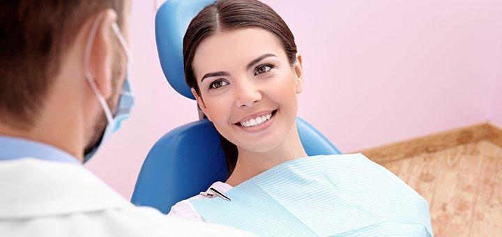 Ультразвуковая чистка зубов Air-Flow с глубоким фторированием в стоматологии «Rocketsmile»