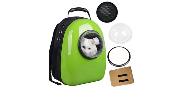 Скидка 15% на рюкзак для переноски животных