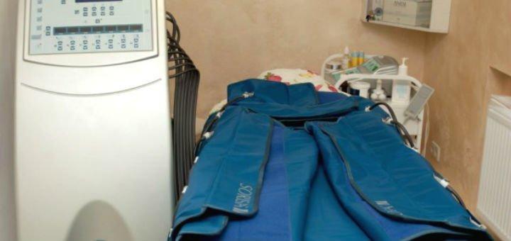 Бесплатный сеанс прессотерапии к общему ручному массажу всего тела в центре «Колибри»