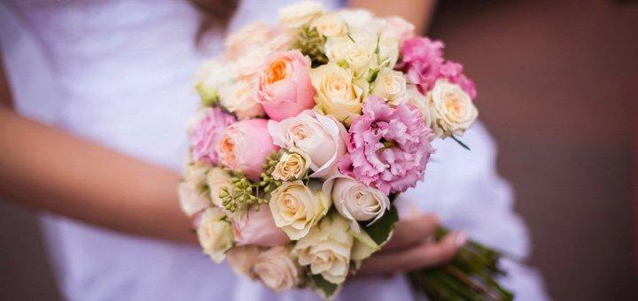 Скидка 30% на оформление свадьбы, флористику и декор от «Fruits&Flowers Market»