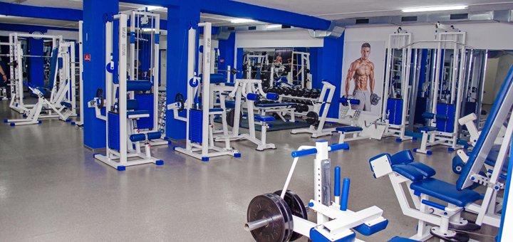 Безлимитное посещение тренажерного зала в фитнес-центре «Athletic Build»