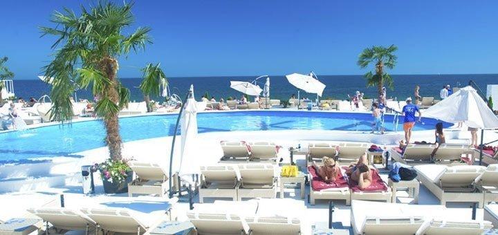 Скидка 30% на целый день отдыха на территории пляжного комплекса «ITAKA»
