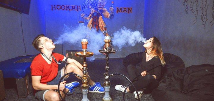 Классический кальян с чаем либо премиум кальян с коктейлями в lounge-баре «Hookah Nights Air»