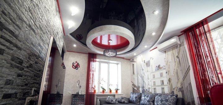 Скидка 20 % на натяжные потолки от «5plus.kiev.ua»